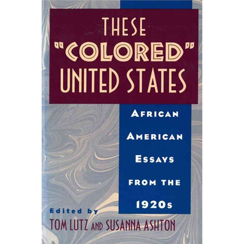these colored united state african american essay from the 1920s