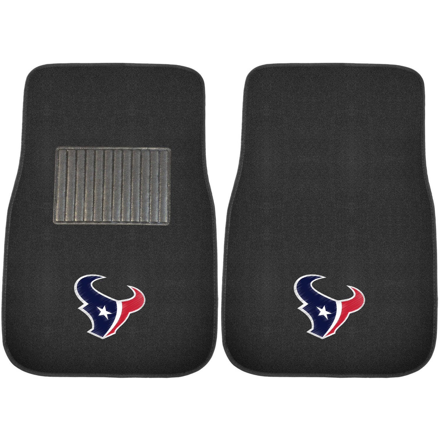 NFL Houston Texans Embroidered Car Mats