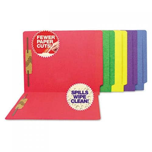 SJ Paper Fastener End-tab File Folders