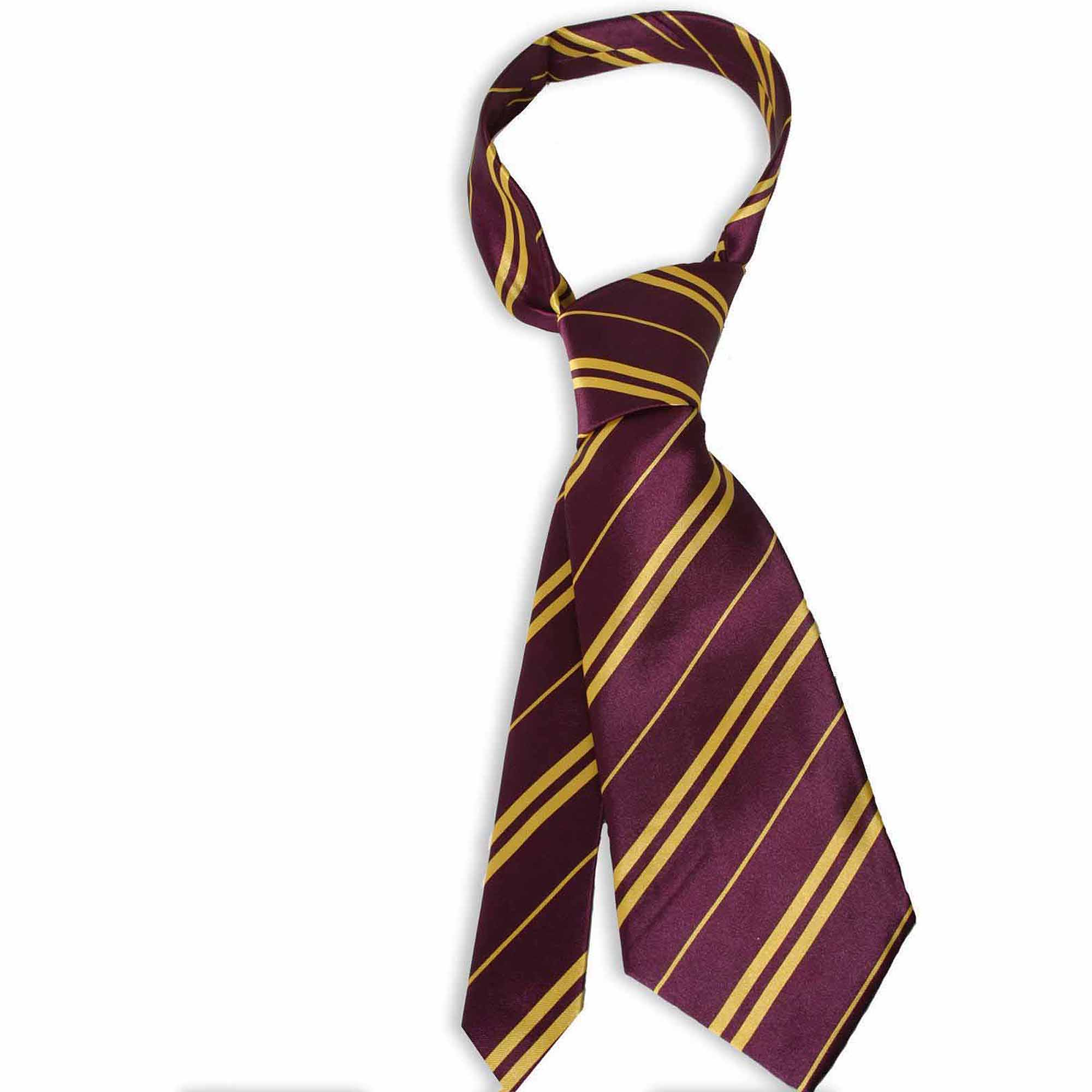 Harry Potter Gryffindor Economy Tie Halloween Accessory