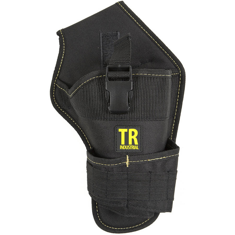 TR Industrial 88020 Durable Cordless Drill Holster with 12 Small Pockets