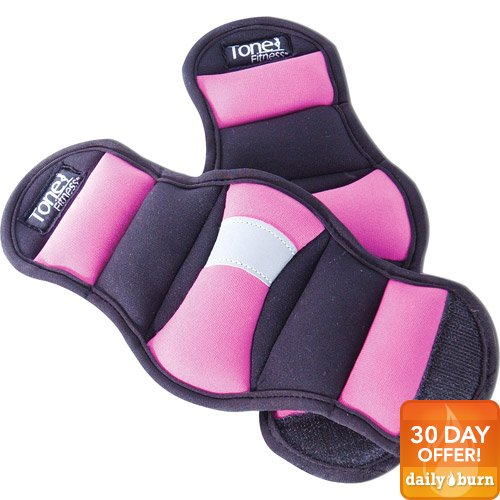 Tone Fitness Pair of 2-lb. Wrist Weights