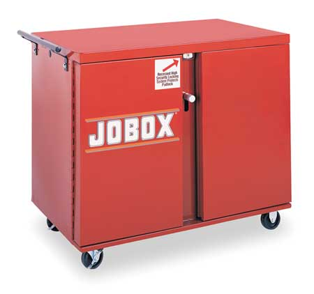 JOBOX 678990 Mobile Workbench, 49-7\/8x26-7\/8x40-5\/8In