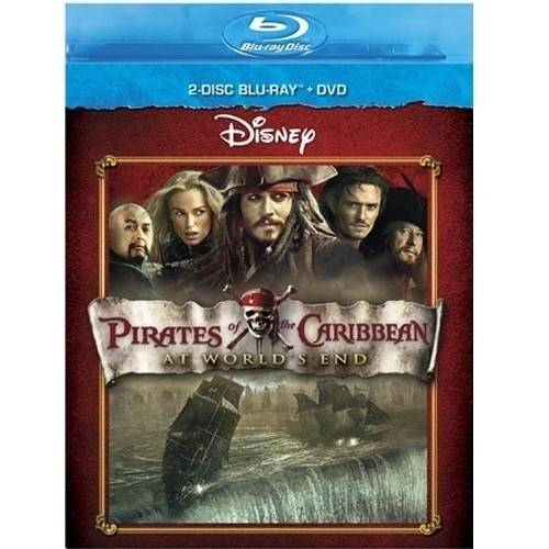 PIRATES OF THE CARIBBEAN-AT WORLDS END (BR/DVD/3 DISC COMBO)