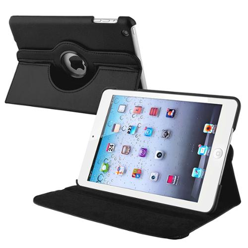 Insten Leather Case with Multi Viewing Stand For Apple iPad Mini 1st 2nd 3rd Gen 1 2 3, Black  (Fit iPad Mini 1/2/3)