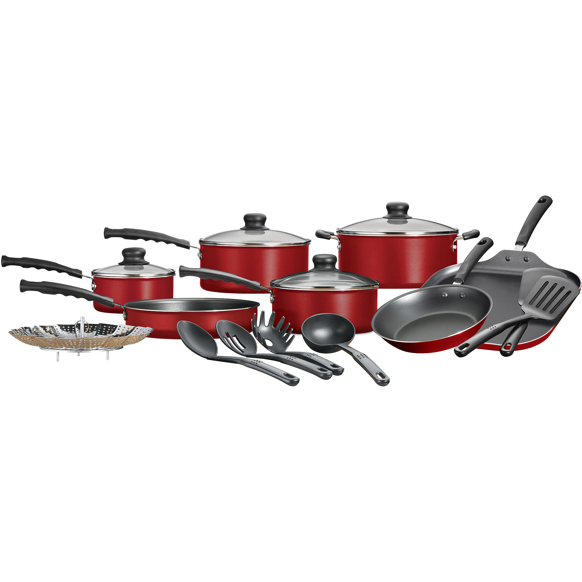 Mainstays 18-Piece Nonstick Cookware Set