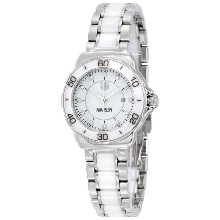 Tag Heuer Formula 1 White Dial Ceramic Ladies Watch WAH1315. BA0868