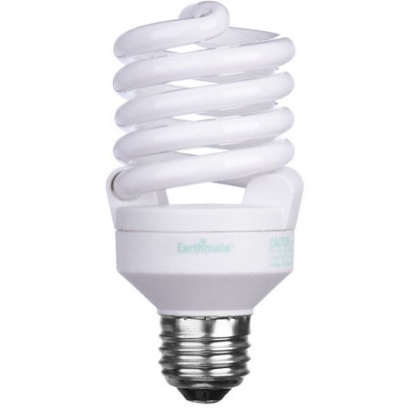 earthmate 23w 2700k compact fluorescent light bulb. Black Bedroom Furniture Sets. Home Design Ideas