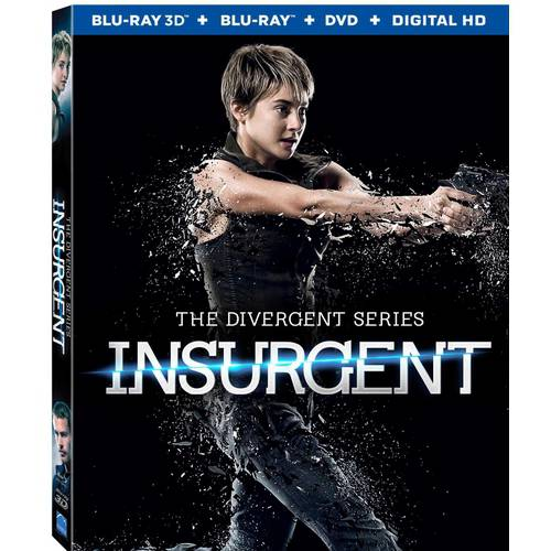 INSURGENT (BLU RAY/DVD COMBO/3D/UV/3 DISC) (3-D)
