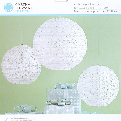 Martha Stewart Crafts Doily Lace Paper Lanterns Kit