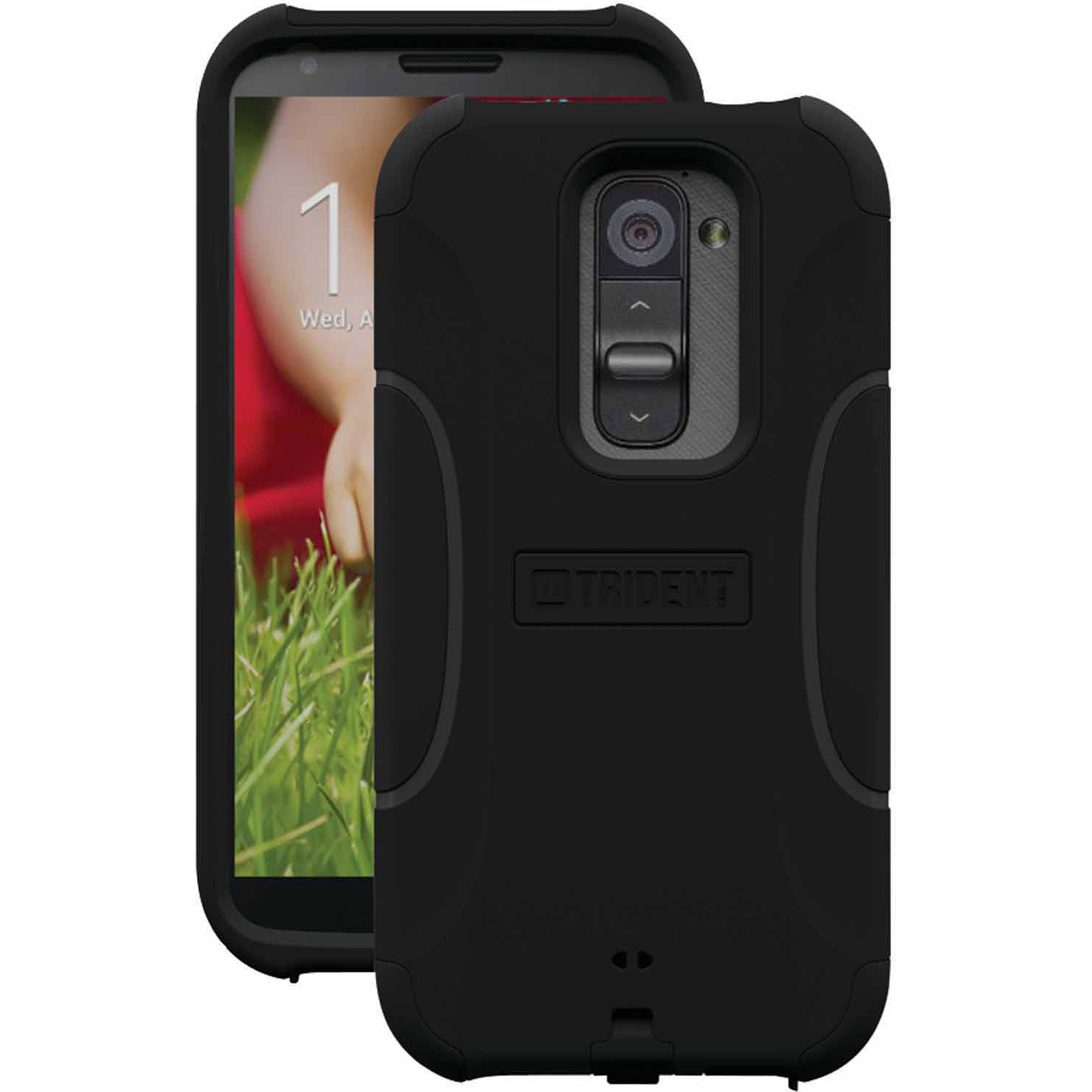 Trident Aegis Series Case for LG G2 - Black