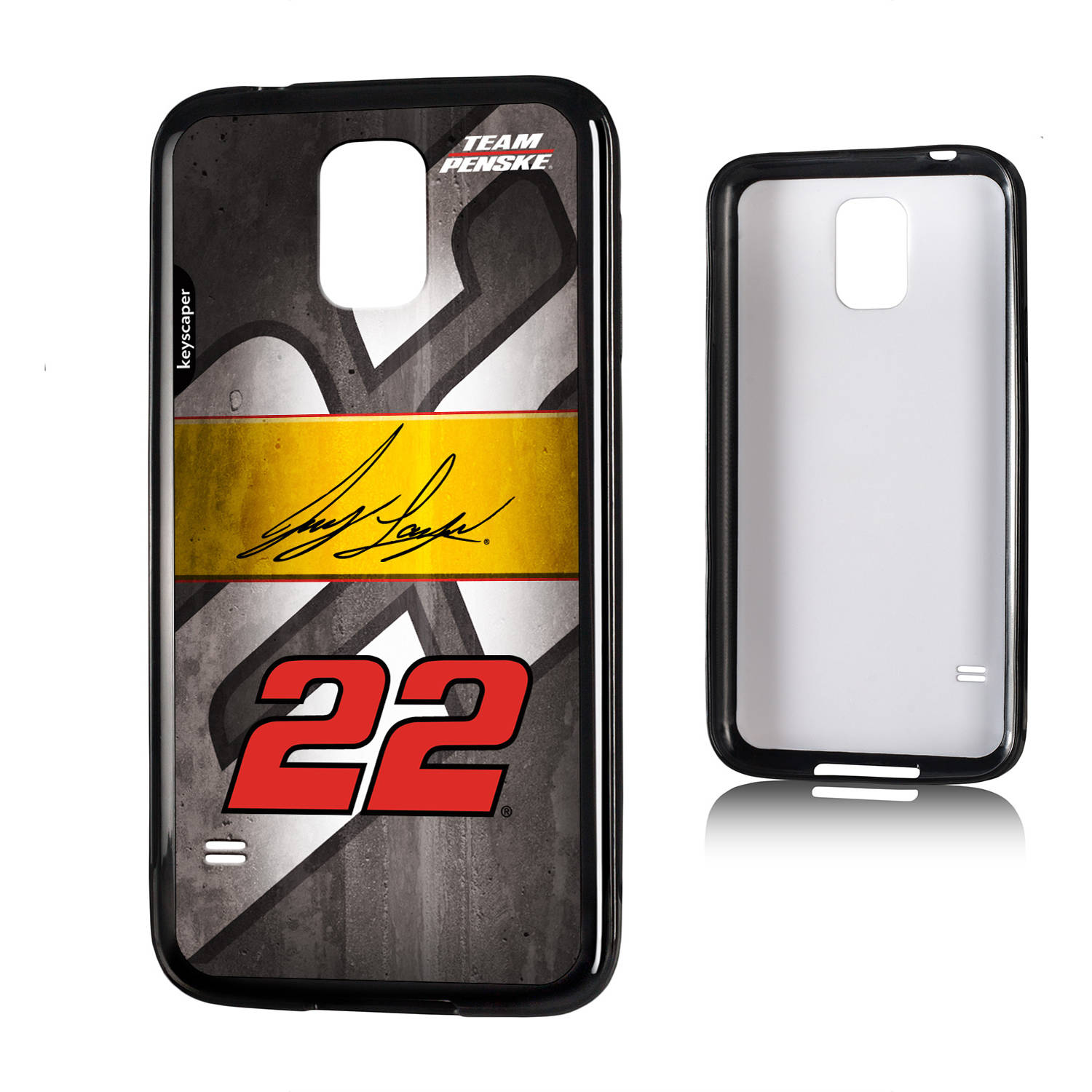 Joey Logano #22 Galaxy S5 Bumper Case