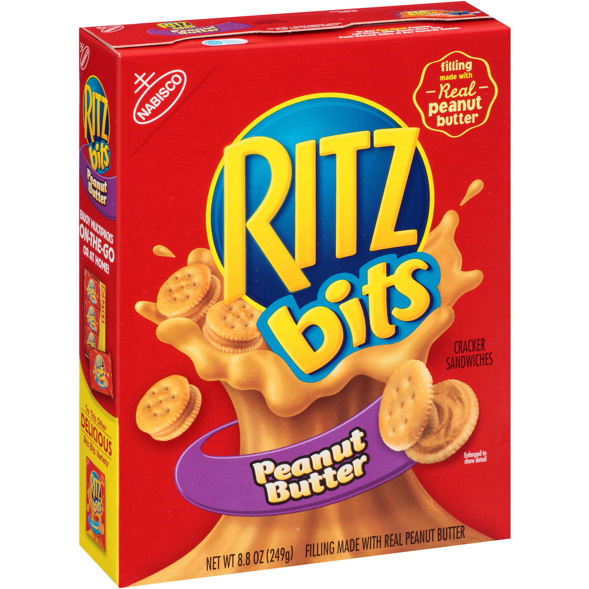Ritz Bits Peanut Butter Cracker Sandwiches, 8.8 oz