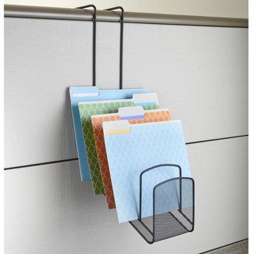 Safco Onyx 5-pocket Waterfall Mesh Panel Organizer
