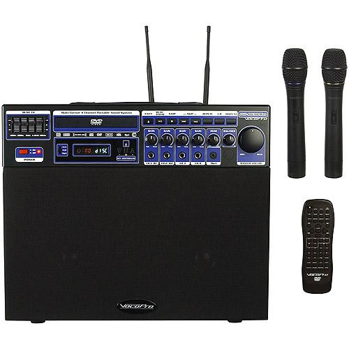 VocoPro DVD-Soundman Wireless Mic Karaoke PA System