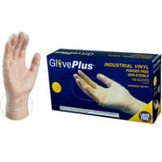 GlovePlus Vinyl Powder-Free Disposable Gloves