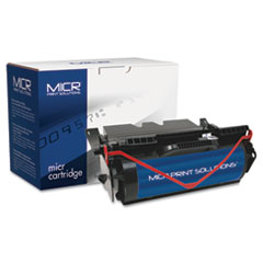 MICR Print Solutions Compatible with T640M High-Yield MICR Toner, 21,000 Page-Yield, Black