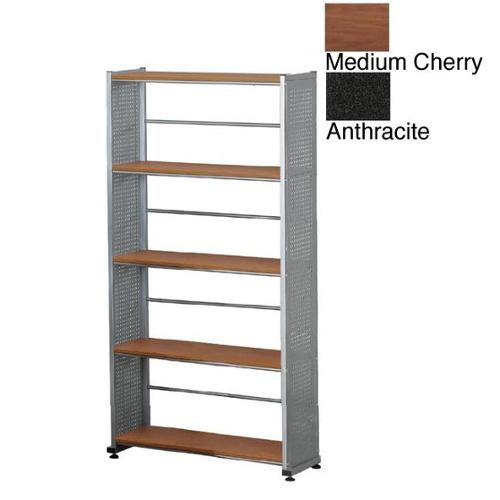 Mayline Eastwinds 5-shelf Bookcase Medium Cherry