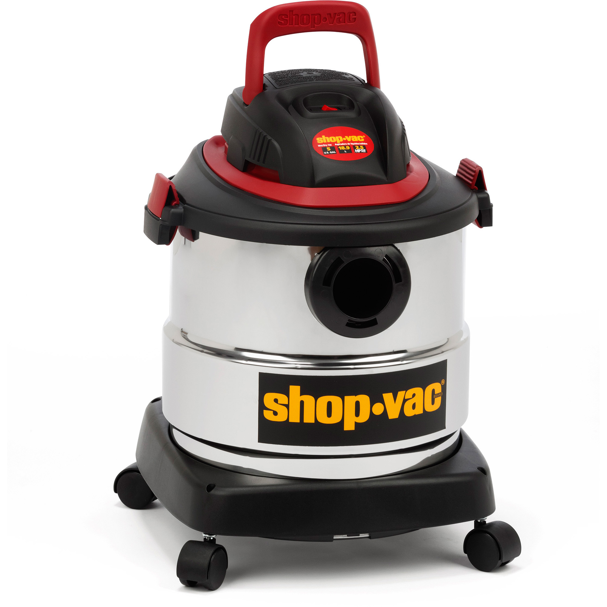 Shop-Vac 5-gallon Stainless Steel Wet/Dry Vacuum