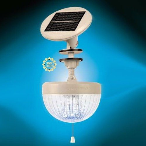 Gama Sonic Crown Six-LED Solar Shed Light