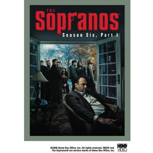 SOPRANOS-6TH SEASON-PART 1 (DVD/4 DISC SET/WS/16:9/ENG-FR-SP SUB)