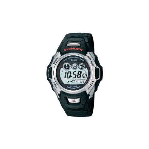 Casio Men's Atomic Solar G-Shock Resin Watch