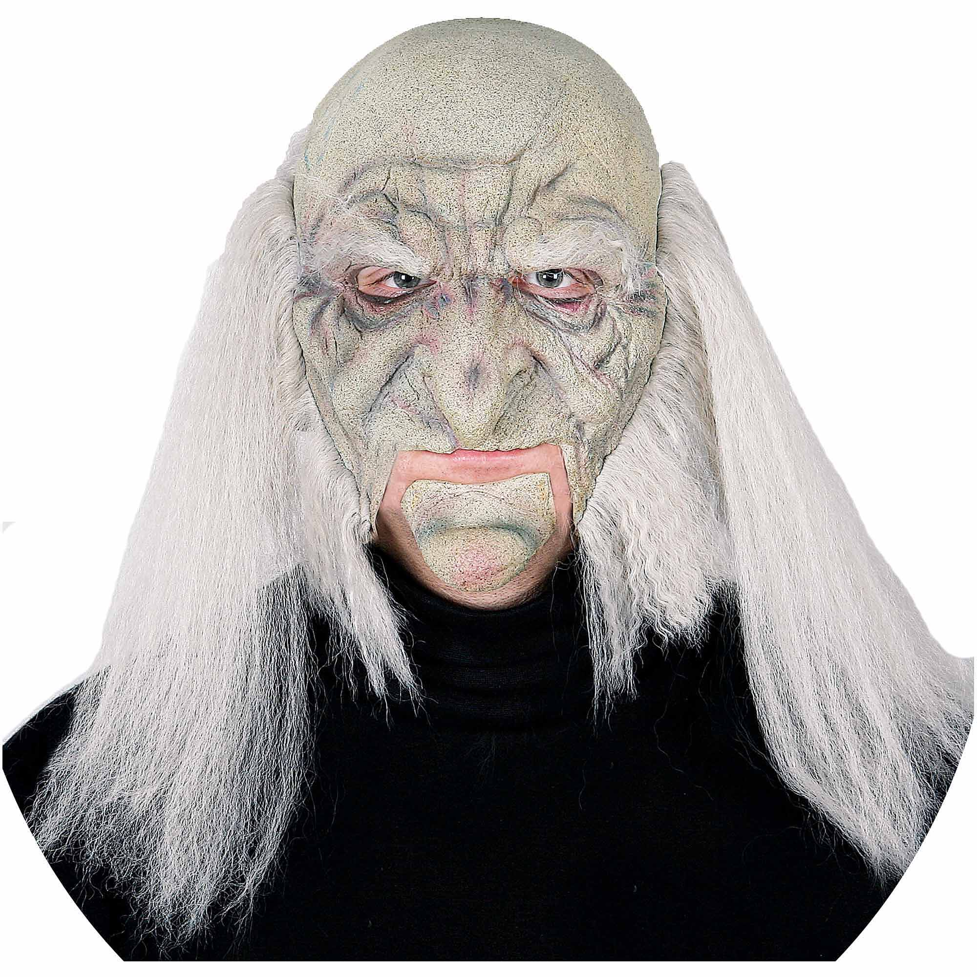 Shuddersome Moving Jaw Mask Adult Halloween Accessory