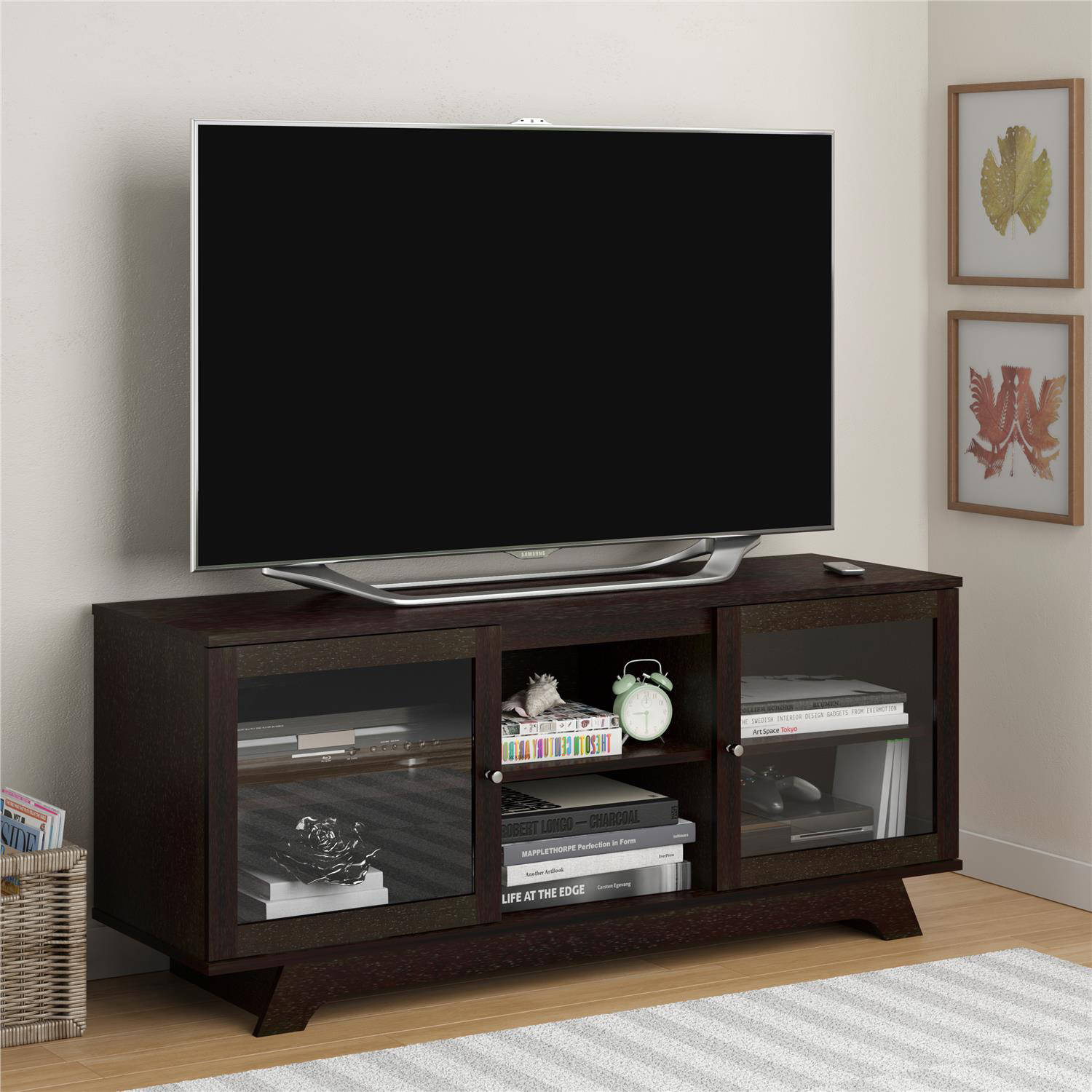 Altra Transitional Tv Stand For Tvs Up To 55 Quot Multiple