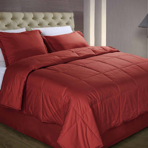 Cottonloft Colors All Natural Down Alternative Cotton Filled Comforter
