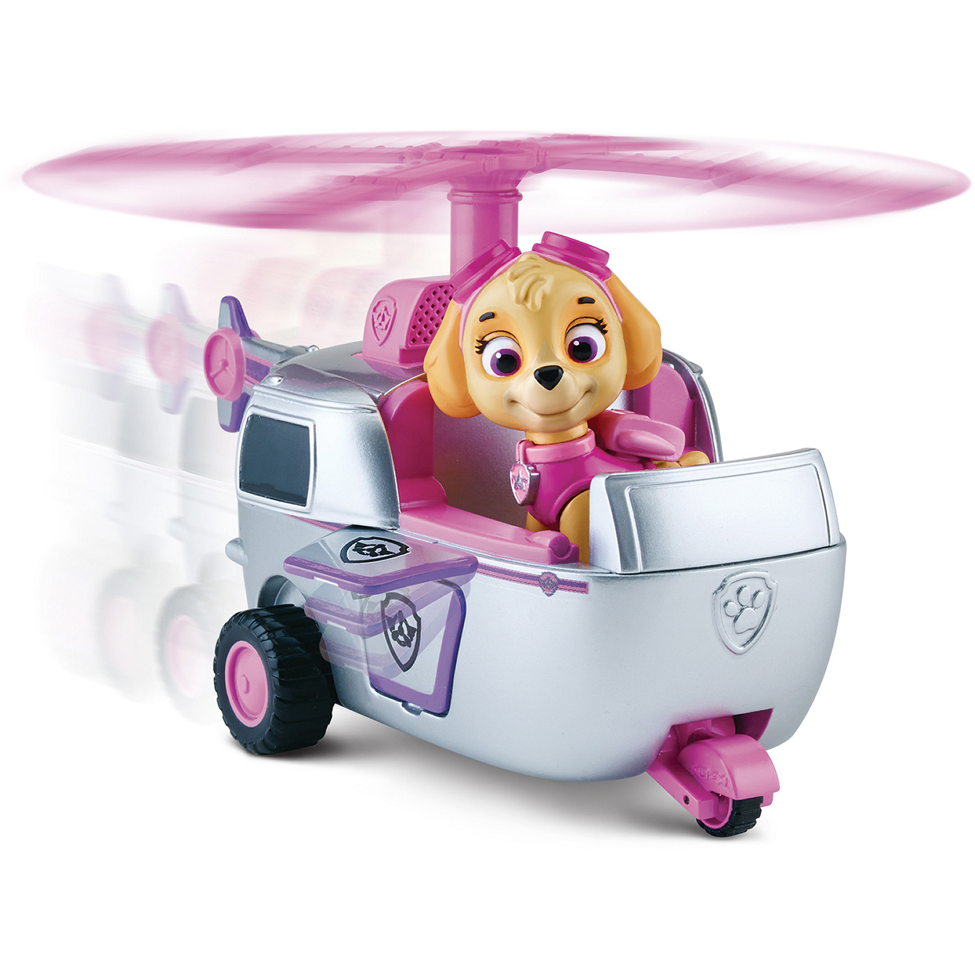 Nickelodeon Paw Patrol - Skye's High Flyin' Copter, Vechicle and Figure