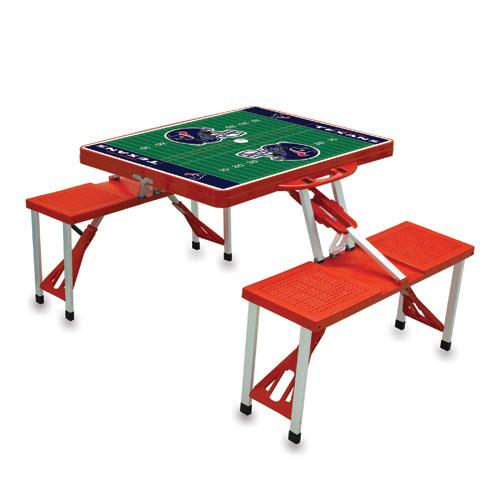Red NFL Folding Picnic Table Team: Tampa Bay Buccaneers