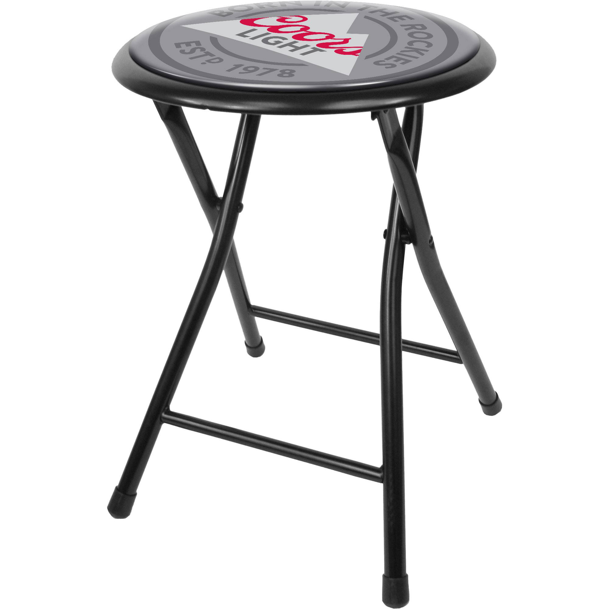 "Coors Light 18"" Folding Stool"