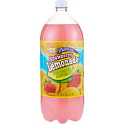 Great Value Sparkling Strawberry Lemonade Soda, 2 l