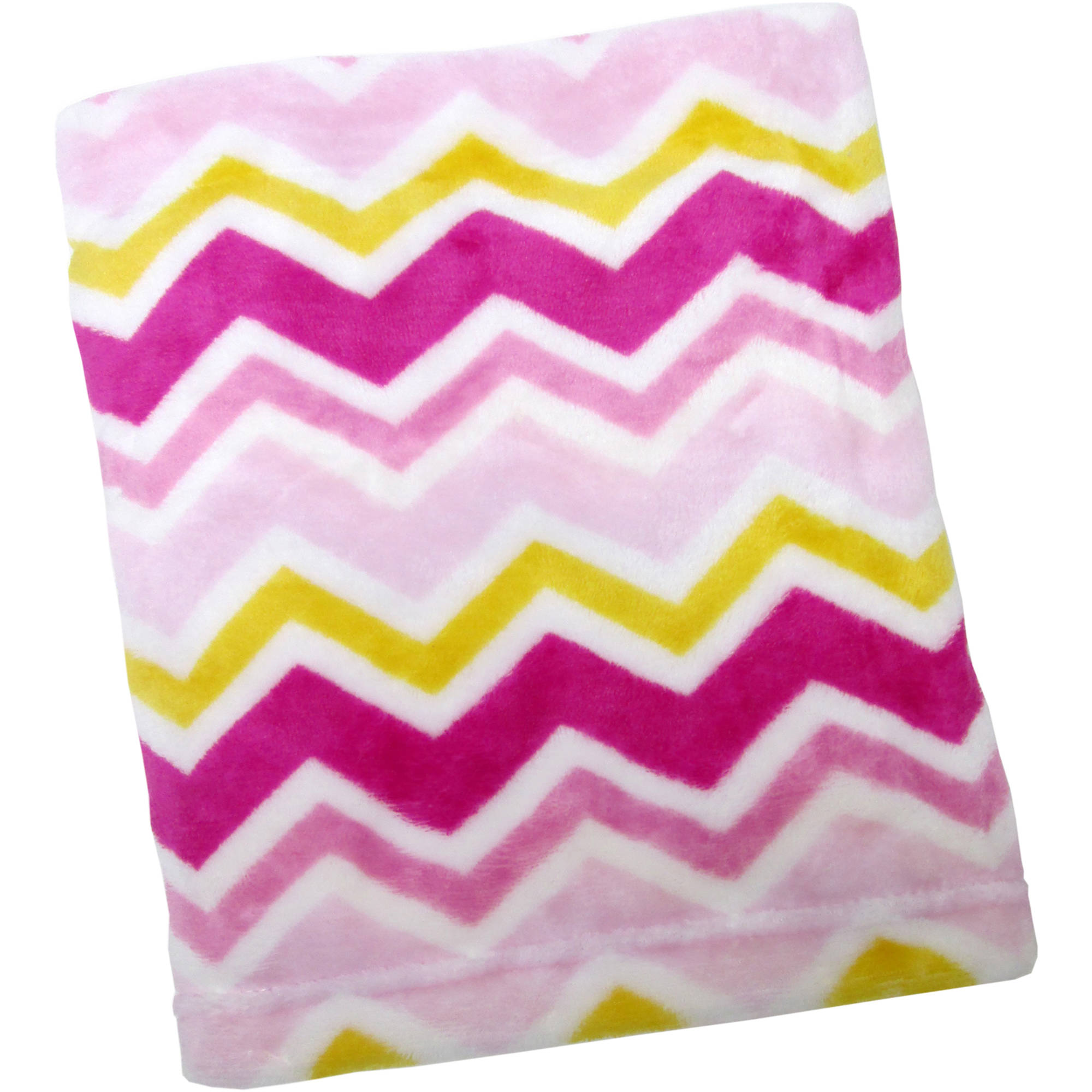 Kimberly Grant Plush Chevron Blanket, Girl