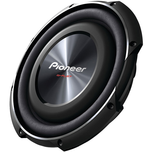"Pioneer TS-SW2502S4 10"" 1,200W Shallow Subwoofer with Single 4"" Voice Coil"