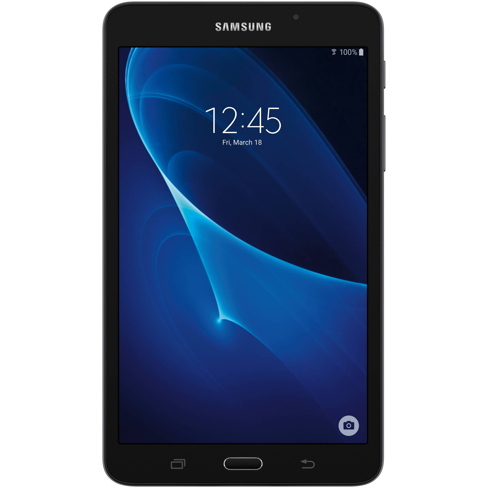 "Samsung Galaxy Tab A with WiFi 7"" Touchscreen Tablet PC Featuring Android 5.1 (Lollipop) Operating System, Black"