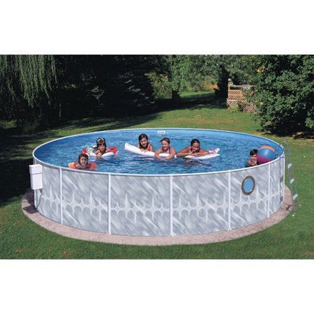 Heritage round 12 39 x 42 above ground swimming pool for Deep above ground pools