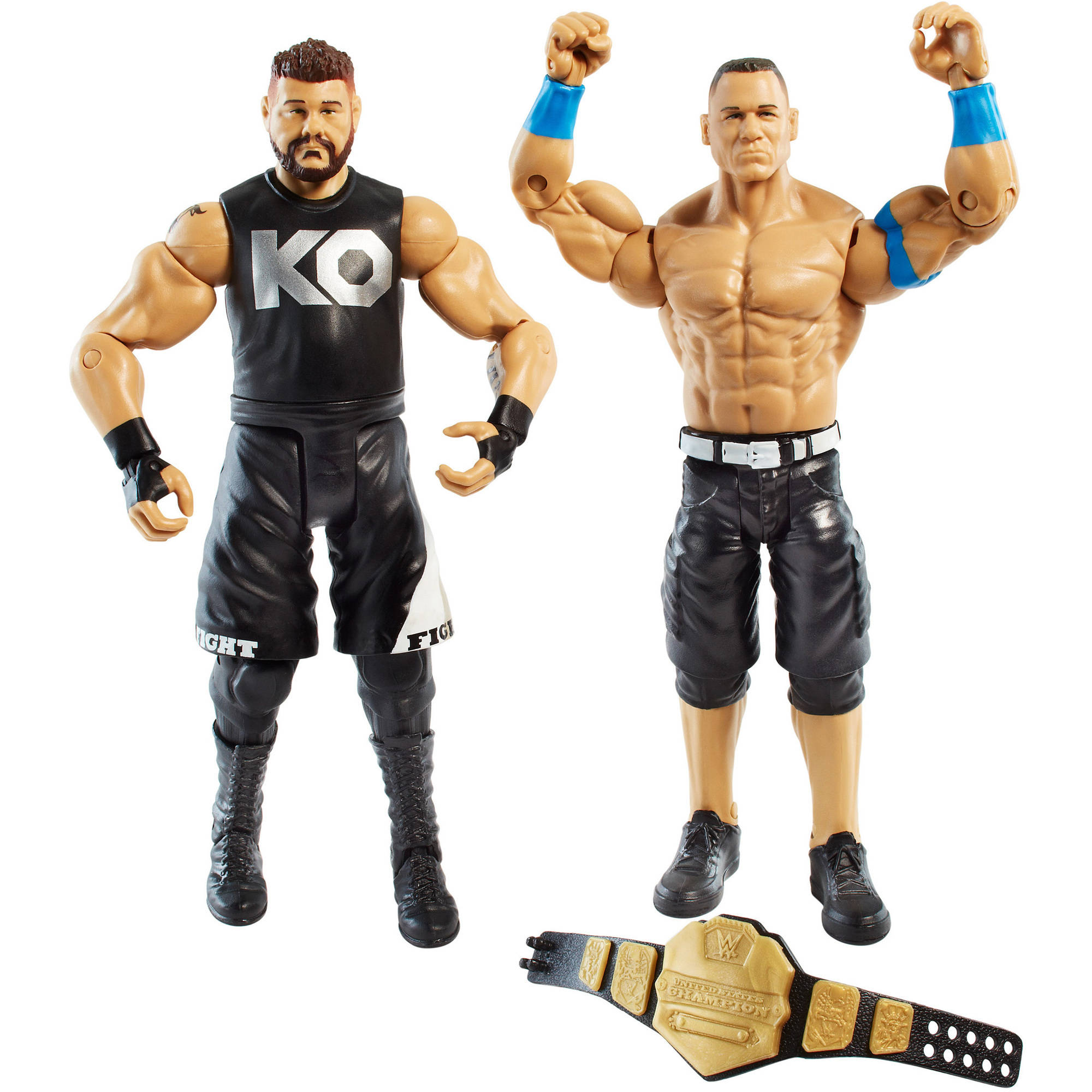 WWE 2-Pack John Cena and Kevin Owens Figures