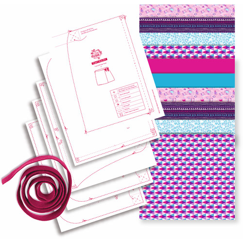 Sew Cool Sew Creative Fabric Kit with Bonus Skirt Project