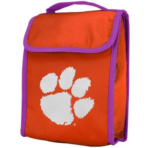Clemson Tigers Official NCAA  Insulated Lunch Box Lunchbox Bag by Forever Collectibles