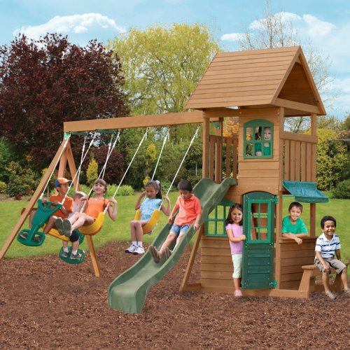 Big Backyard Windale Wooden Play Set, Box 1 of 4
