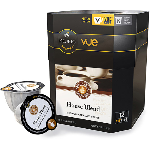 Keurig Vue Pack Barista Prima Coffeehouse House Blend Coffee, 12ct