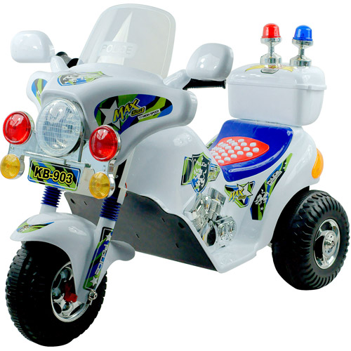 Rockin' Rollers Police Motorcycle 6-Volt Battery-Powered Ride-On