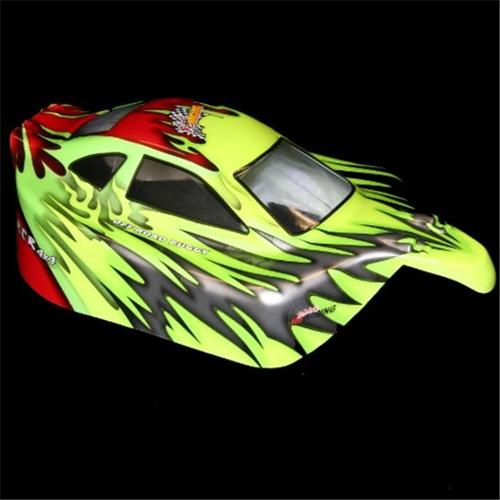 Redcat Racing 10707 . 10 Buggy Body Red and Green
