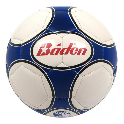 Baden Low Bounce Size 3 Futsal Practice Ball - Blue/White