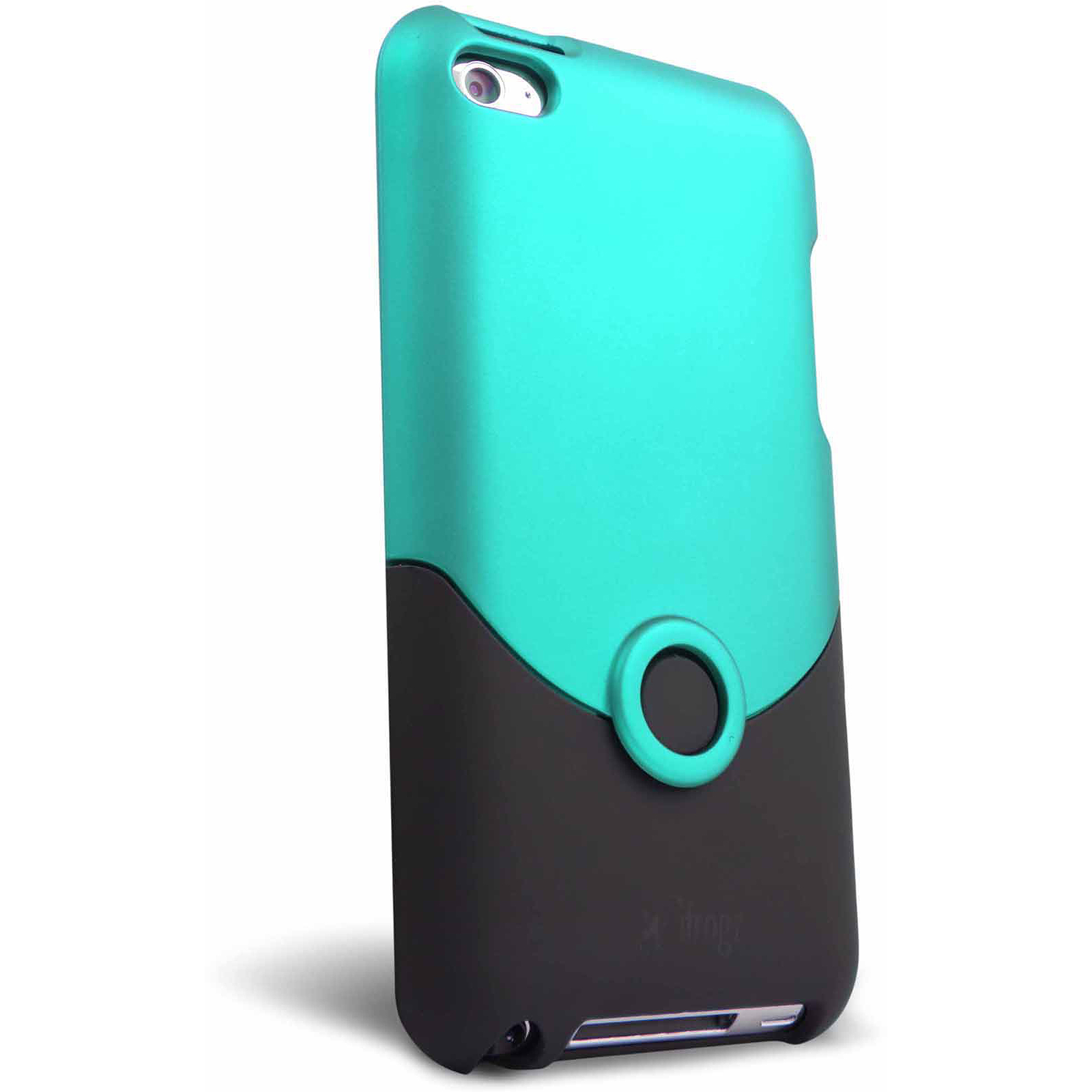 iFrogz Apple iPod touch 4 Luxe Original Case, Teal/Black