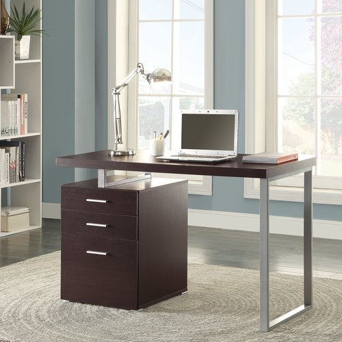 Coaster Hilliard Office Desk in Modern Multiple Finishes