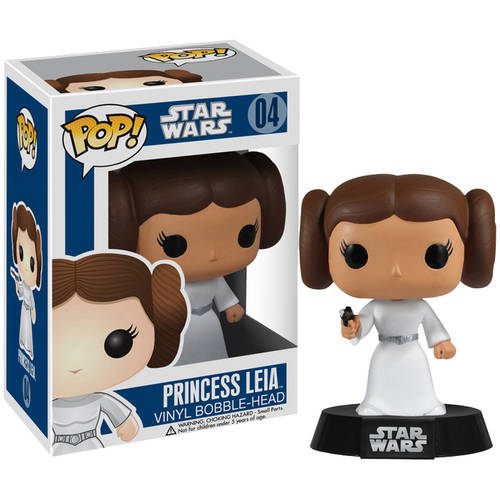 Funko Pop! Lucas Films Star Wars Princess Leia Vinyl Bobble Head