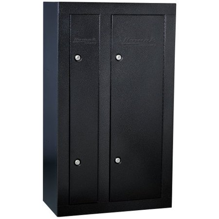 Homak 8 gun double door steel gun cabinet for 10 gun double door steel security cabinet