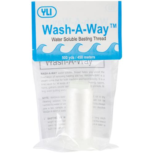 YLI Wash-A-Way Thread 500 Yards-